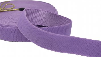 Purple Strap or Waistband Elastic - 1 inch - 3 Yards
