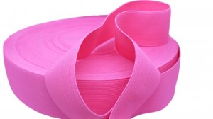 Fluorescent Pink Elastic - 2 inch - 1 yard