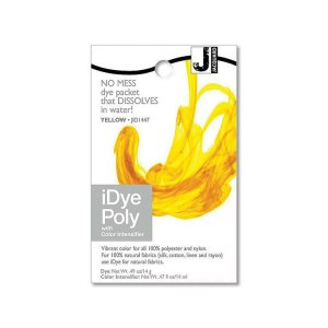 Jacquard iDye Poly Synthetic Fabric Dye - Yellow