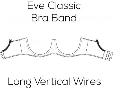 Eve Classic Bra Band for Long Vertical Wire