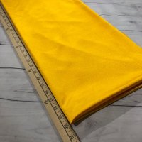 "Golden Yellow Dazzle Polyester Tricot - 60"" wide - 1 Yard"