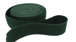 Forest Green Belt Elastic - 1 1/2 inch - 1 yard