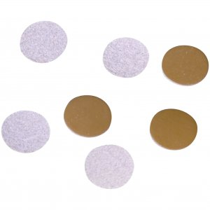 Brown Leather Disk 13mm - 50 Pieces