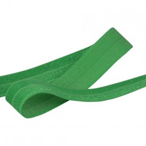 Classical Green Fold Over Elastic - 5 Yards