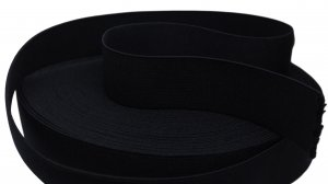 Dark Navy Blue Belt Elastic - 1 5/8 inch - 1 yard