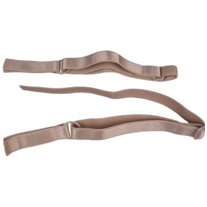 Tan Bra Straps - 1/2 inch or 13mm - 1 Pair