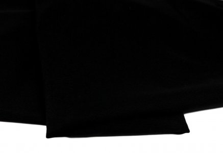 Nylon/Spandex Black Power Mesh Fabric - 1/2 Yard - 120gsm/3.5oz