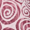 Pink and White Sheer Spiral Fabric - 54 inch - 2 Yards