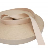 "Nude Non-Stretch Strapping - 18mm or 3/4"" Wide"
