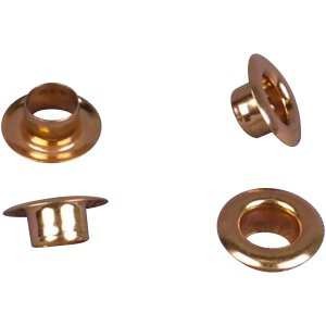 Gold Metal Grommet - 8mm