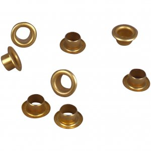 Gold Metal Grommet - 7mm