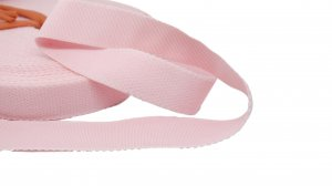 Light Pink Strap or Waistband Elastic - 1 inch - 3 Yards