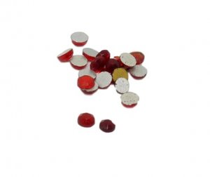 Mixed Reds Rhinestones - 3mm