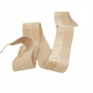 "Nude Fold Over Elastic - 7/8"" Wide - 5 Yards"