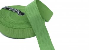 Green Strap or Waistband Elastic - 1 inch - 3 Yards