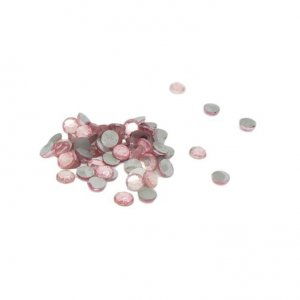 Light Pink Rhinestones - 3mm