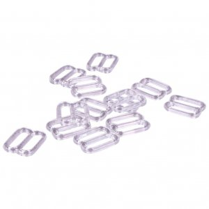 Clear Plastic Slides - 1/2 inch or 13mm