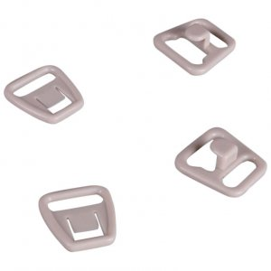 Beige Plastic Nursing Clips - 3/8 inch or 10mm - 10 Sets