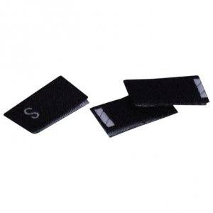 Black Size Small Tags - 100 pieces