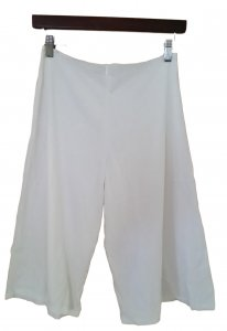 100% Cotton Knit Gaucho Pant Blank Size Large