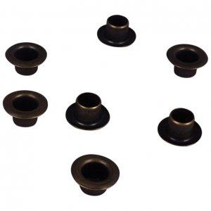 Antique Brass Metal Grommet - 4mm