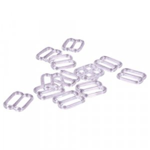 Clear Plastic Slides - 3/8 inch or 10mm