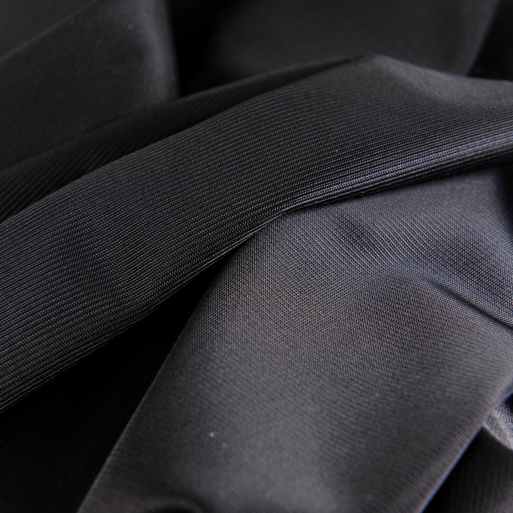 "Soft Black Nylon Tricot - 60"" Wide"