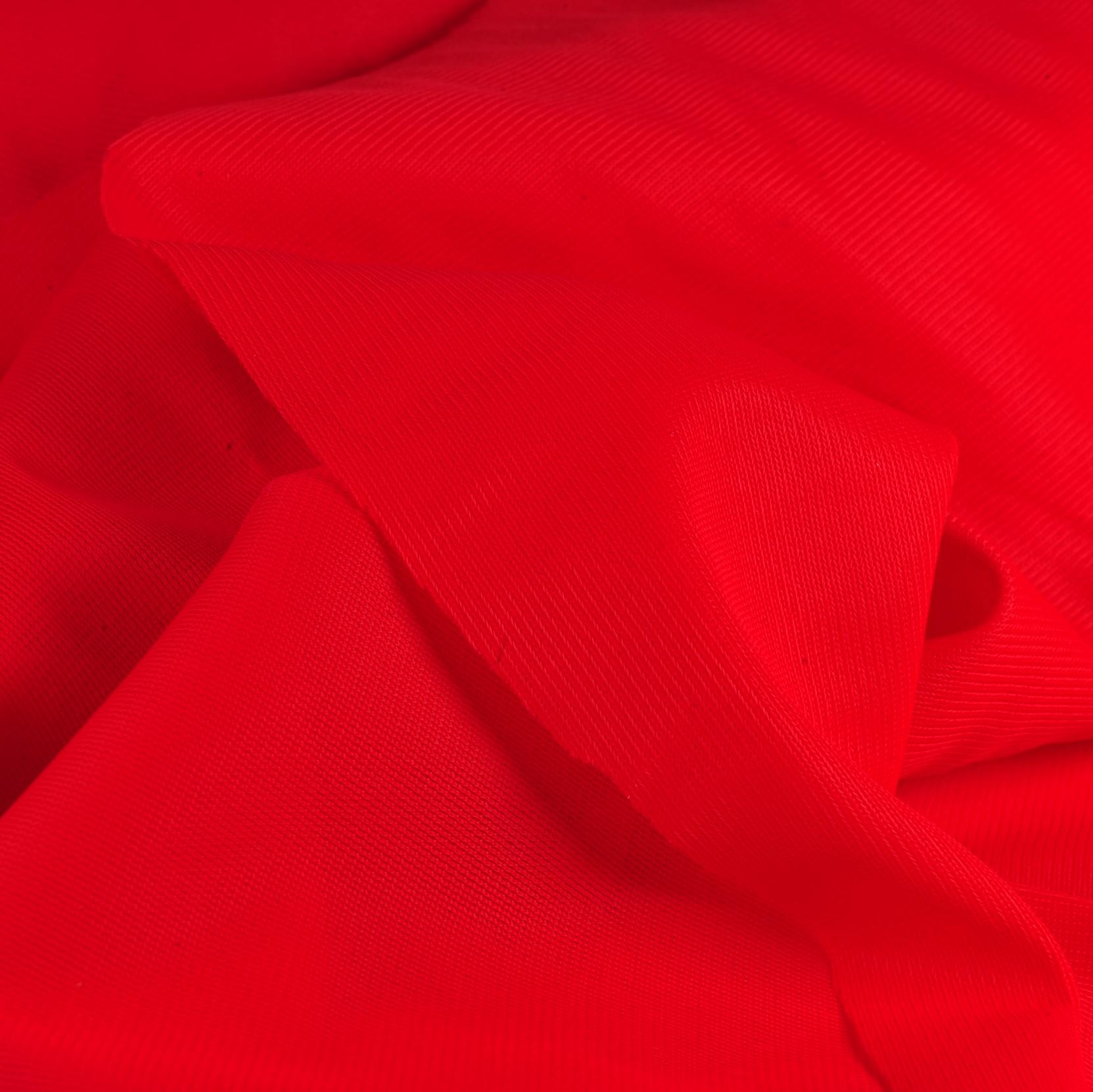 "Soft Valentine Red Nylon Tricot - 60"" Wide"