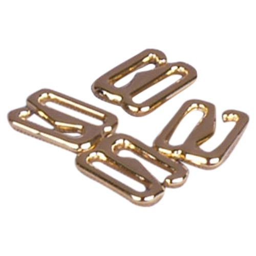 Gold Metal Alloy Slide Hooks - 5/8 inch or 16mm